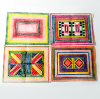 Traditional Dish Mats (4 Nos)