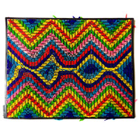 Dish mat with traditional design