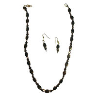 Golden Color Jewellery Set - Alone Capable To Amplify Your Look