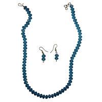 Walk In Elegance By Wearing Sea Blue Set