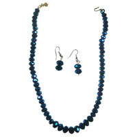 Add More Charm To Your Personality With Blue-Colored Trendy Set