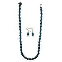 Blue Necklace And Hangings - A Perfect Bliss