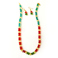 Multicolor Necklace and Hangings