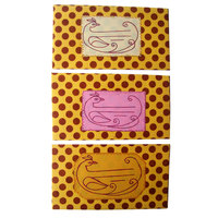 Handmade Paper Envelopes With Dot Design (30 Nos)