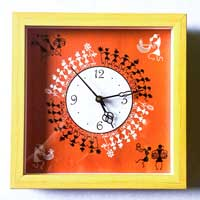 Warli Wall Clock