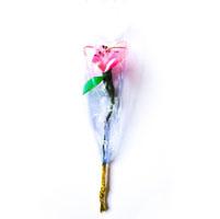Single Pink Flower- Artificial Bouquet (10 Nos)