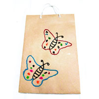 Paper Bag with Design (3 Nos)